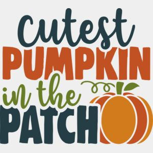 Cutest pumpkin in the patch Thumbnail